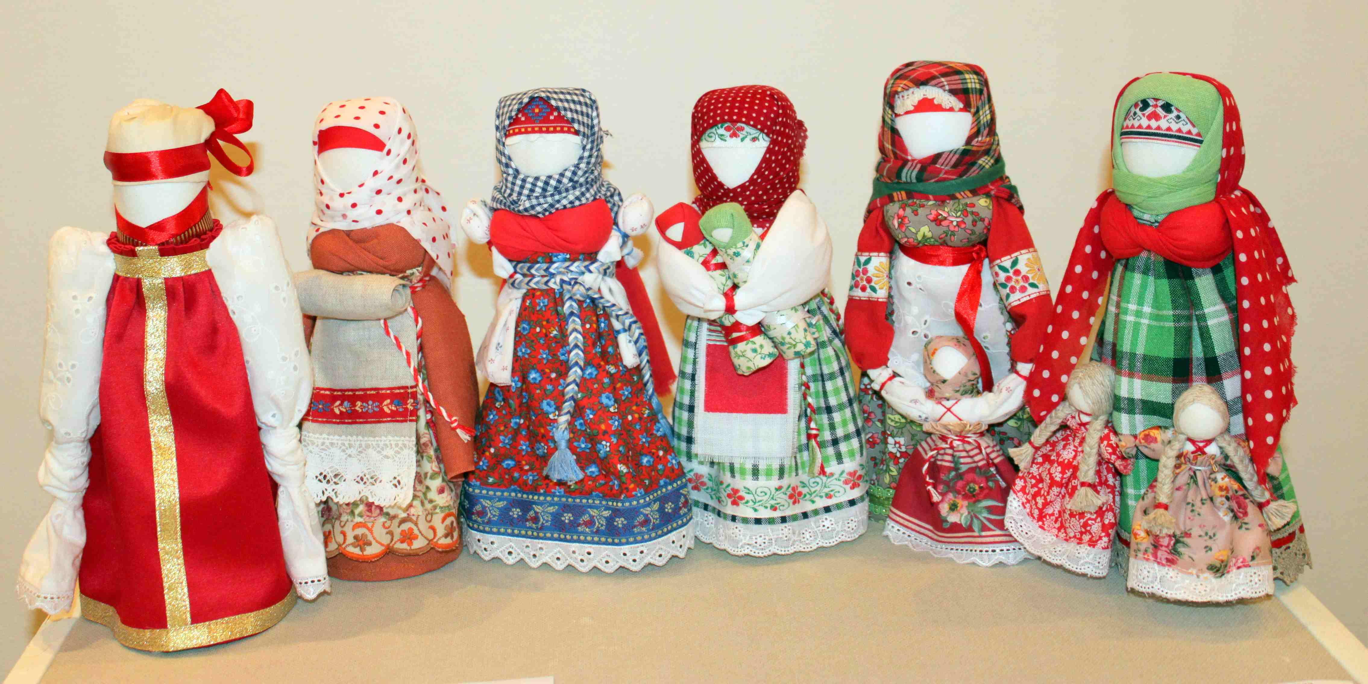 Тряпичная народная кукла оберег своими руками
